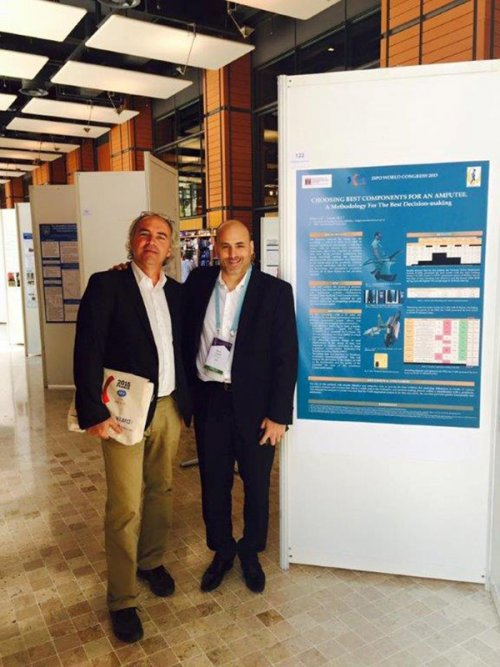 ESTeSL no Congresso Mundial da International Society for Prosthetics and Orthotics em Lyon